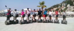 Group on Segway city tour Dubrovnik - basic ride